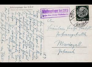 Schulungslager der DRP: Ehrenhalle - Königs Wusterhausen - Berlin 1943