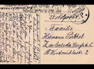 Constantinople 1916-Marine Schiffspost -General Dampfer Poststelle