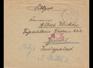 Kaiserliche Marine SMH Prinz Sigismund nach Brüssel