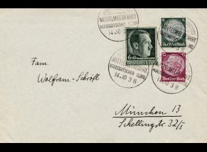 Deutsche Seepost-Mittelmeerfahrt 1938 nach München: General von Steuben