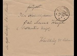 Kaiserliche Marine Schiffspost 1918, S.M.S. Kaiser, Nr. 59