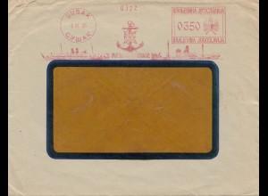 Jugoslavien: Freistempel Susak 1935 - Marine-Anker