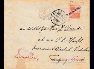 Niederl. Indien: 1929 - S.S. General Michels Tandjong Priok