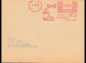 1933: Greif - Goslar: Schablonen