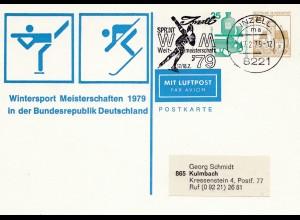 1979: Wintersport Meisterschaften-Ganzsache - Inzell