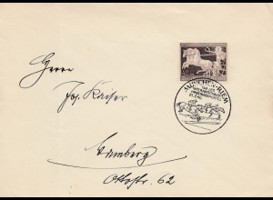 1940: Tag des internaltionalen Hindernisssportes Pferde-München Riem
