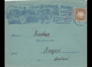 Paul Schöning München, Tuch Versand