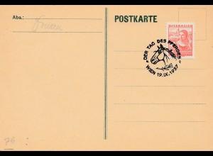 1937: Österreich: Tag des Pferdes