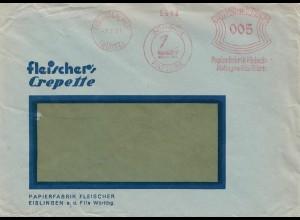 1931: Freistempel Eislingen Schwan-Papiere