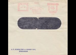 1940: NL: Enschede Schwan im Freistempel