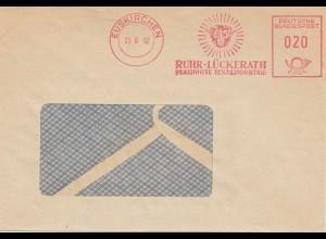 1962: Euskirchen: Ruhr Lückerath: Tierkopf-Textilindustrie