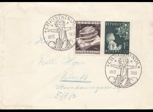 1953: Christkindl - Österreich nach Wien