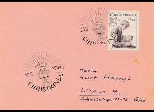 1955: Christkindl - Österreich nach Wien