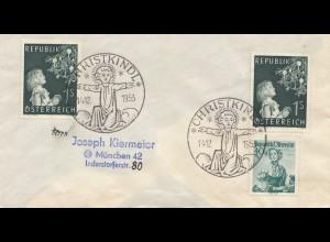 1953: Christkindl - Österreich nach München