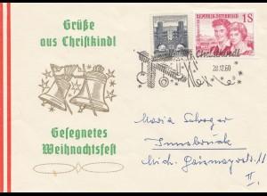 1960: Christkindl Österreich nach Innsbruck