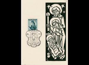1956: Christkindl - Österreich auf schöner Sonderkarte