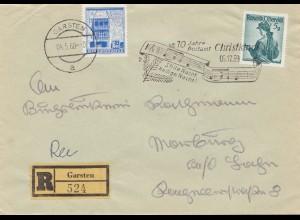 1959: 10 Jahre Postamt Christkindl - Österreich