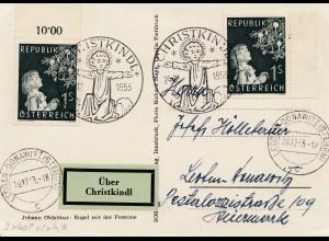 1953: Christkindl - Österreich nach Loeben