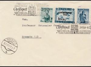 1958: Christkindl - Österreich auf Brief nach Rossatz