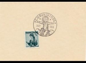 1953: Christkindl - Österreich Blanko Karte