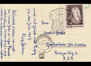 1956: Christkindl - Österreich nach Grossenhain