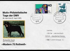 Rottweiler Hund: 1975 Bamberg