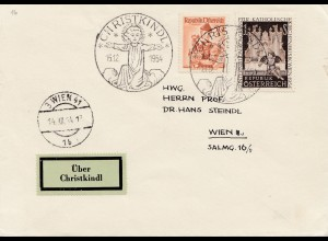 1954: Christkindl - Österreich nach Wien III