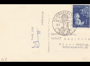 1954: Christkindl - Österreich nach Wien Mödling
