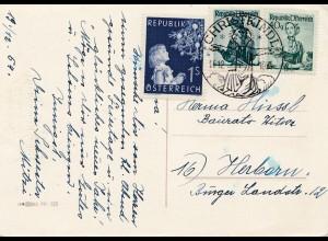 1954: Christkindl - Österreich nach Herborn