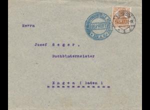 Zensur: Prüfstelle 1917 Konstanz