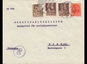 Zensur: 1941: Ungarn nach Deutschland