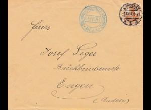 Zensur: Prüfstelle Konstanz 1917