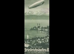 Zeppelin: Prospekt: Besucht die Zeppelinstadt Friedrichshafen