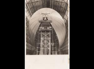 Ansichtskarte: Luftschiff LZ 130 im Bau - Erinnerung Taufe 1938