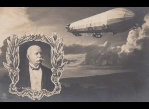 1908: Ansichtskarte Graf Zeppelin