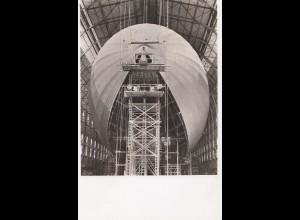 Ansichtskarte: Luftschiff LZ 130 im Bau 1938 - Erinnerung Taufe