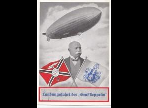 1939: Landungsfahrt des Graf Zeppelin - Propaganda: Besuch Zeppelin