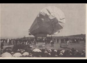 1938: Zum 100. Geburtstag Graf Zeppelin - Ansichtskarte Friedrichshafen