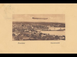 Ansichtskarte 1929 Konstanz