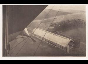 Zeppelin: Ansichtskarte: Stations-Landeplatz Luftschiff Viktoria Luise
