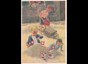 Ganzsache 1937 Schweiz - Rotes Kreuz