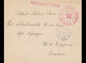 Belgien: Croix rouge Amsterdam 1940