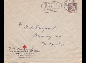 Dänemark: 1952 - Hospital Schiff Jutlania-Rotes Kreuz