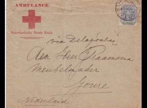 Niederländisches Rotes Kreuz - Zentral Afrikanische Republik nach NL