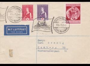 Deutsche Seepost 1941 - Henning Brief