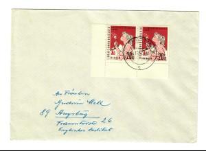 1952 MeF Pottmes nach Augsburg, Eckrand