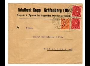 Gräfenberg 1922 nach Kitzingen