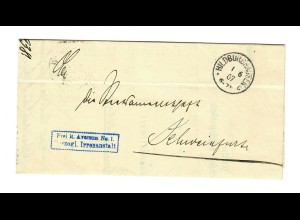 1907: Hildburghausen, Herzogliche Irrenanstalt nach Schweinfurt