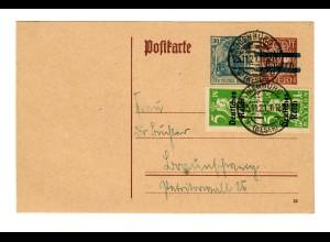 Ganzsache 1921 Nienburg