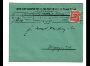 Würzburg 1923 Bauern Verein, Zentralgenossenschaft nach Kitzingen